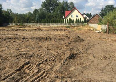 Nowe osiedle Kraków - plac budowy