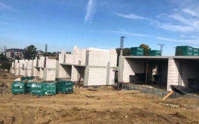 Zdjęcia z przebiegu budowy